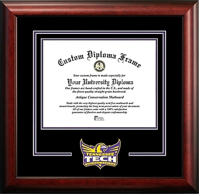 Campus Images NCAA Spirit Diploma size; Tennessee Tech Golden Eagles