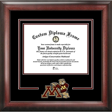 Campus Images NCAA Spirit Diploma size; Minnesota Golden Gophers