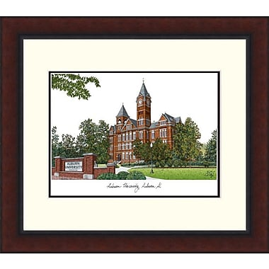 Campus Images Legacy Alumnus Lithograph Picture Frame; Auburn Tigers