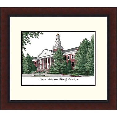 Campus Images Legacy Alumnus Lithograph Picture Frame; Tennessee Tech Golden Eagles