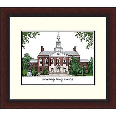 Campus Images Legacy Alumnus Lithograph Picture Frame; Eastern Kentucky Colonels