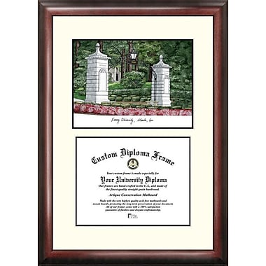 Campus Images NCAA Scholar Diploma Picture Frame; Emory Eagles