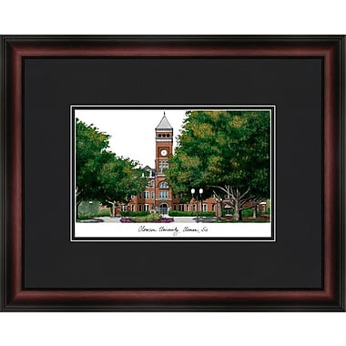Campus Images Academic Lithograph Picture Frame; Clemson Tigers