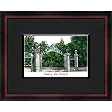 Campus Images Academic Lithograph Picture Frame; Cal Golden Bears