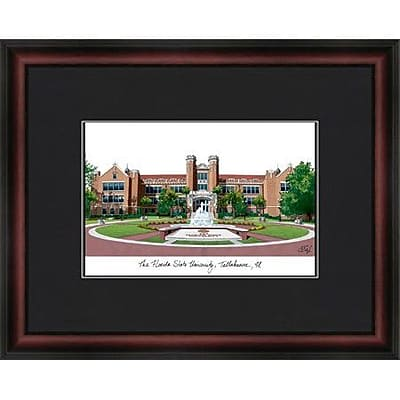 Campus Images Academic Lithograph Picture Frame; Florida State Seminoles