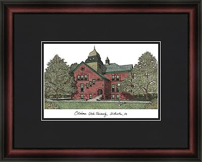 Campus Images Academic Lithograph Picture Frame; Oklahoma State Cowboys