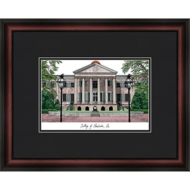 Campus Images Academic Lithograph Picture Frame; College of Charleston Cougars