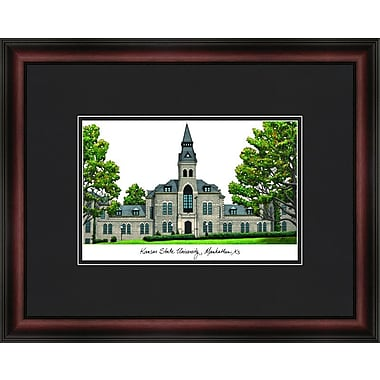 Campus Images Academic Lithograph Picture Frame; Kansas State Wildcats