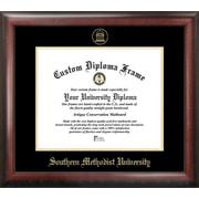 Campus Images NCAA Gold Embossed Diploma Picture Frame; SMU Mustangs