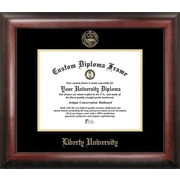 Campus Images NCAA Gold Embossed Diploma Picture Frame; Liberty Flames