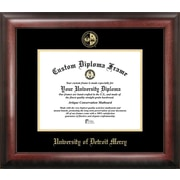 Campus Images NCAA Gold Embossed Diploma Picture Frame; Detroit Titans