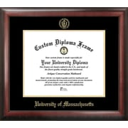 Campus Images NCAA Gold Embossed Diploma Picture Frame; U Mass Minutemen