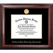 Campus Images NCAA Gold Embossed Diploma Picture Frame; Sacramento State Hornets