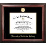 Campus Images NCAA Gold Embossed Diploma Picture Frame; Cal Golden Bears
