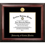 Campus Images NCAA Gold Embossed Diploma Picture Frame; Central Florida Knights
