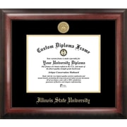 Campus Images NCAA Gold Embossed Diploma Picture Frame; Illinois State Redbirds