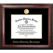 Campus Images NCAA Gold Embossed Diploma Picture Frame; Indiana Hoosiers
