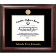 Campus Images NCAA Gold Embossed Diploma Picture Frame; Colorado State Rams