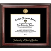 Campus Images NCAA Gold Embossed Diploma Picture Frame; South Florida Bulls