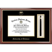Campus Images NCAA Tassel Box and Diploma Picture Frame; Deleware Blue Hens