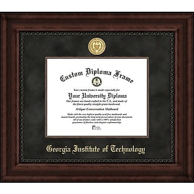 Campus Images NCAA Executive Diploma Picture Frame; Georgia Tech Yellow Jackets