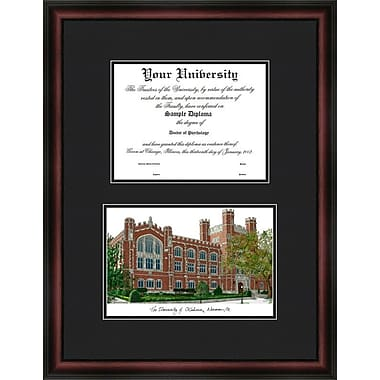 Campus Images NCAA University Diplomate Diploma Picture Frame; Oklahoma Sooners