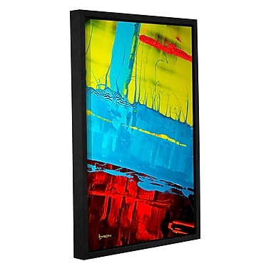 ArtWall 'Boundaries' by Byron May Framed Painting Print on Wrapped Canvas; 36'' H x 24'' W