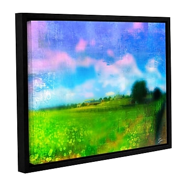 ArtWall 'Homeland' by Greg Simanson Framed Painting Print on Wrapped Canvas; 14'' H x 18'' W