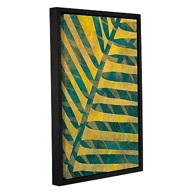 ArtWall 'Leaf Shades I' by Cora Niele Framed Graphic Art on Wrapped Canvas; 18'' H x 12'' W