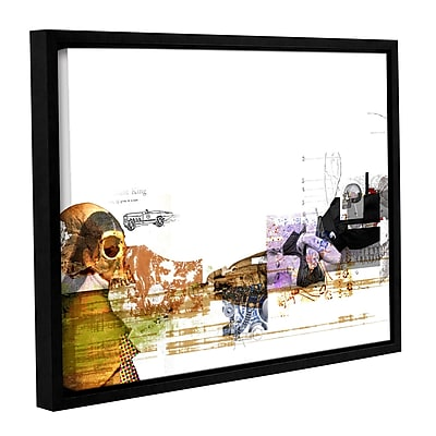 ArtWall 'Stages' by Greg Simanson Framed Graphic Art on Wrapped Canvas; 24'' H x 32'' W