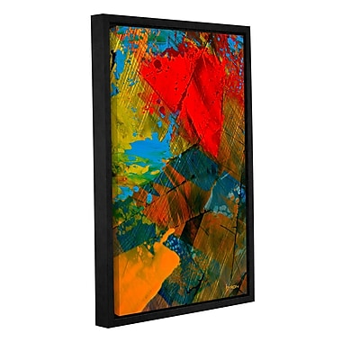 ArtWall 'Obstacles of Life' by Byron May Framed Painting Print on Wrapped Canvas; 24'' H x 16'' W