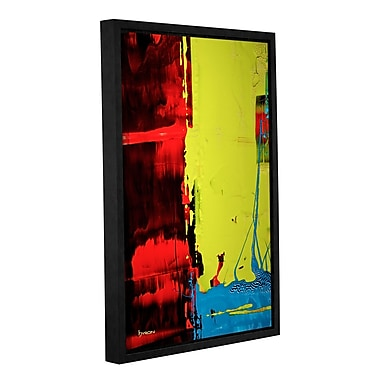 ArtWall 'Turbulent Times' by Byron May Framed Painting Print on Wrapped Canvas; 48'' H x 32'' W