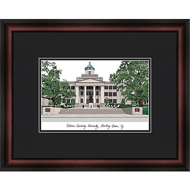 Campus Images Academic Lithograph Picture Frame; Western Kentucky Hilltoppers