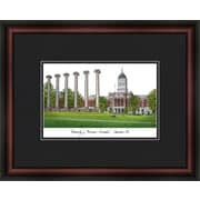 Campus Images Academic Lithograph Picture Frame; Missouri Tigers