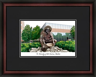 Campus Images Academic Lithograph Picture Frame; Charlotte 49ers