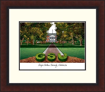 Campus Images Legacy Alumnus Lithograph Picture Frame; Georgia Southern Eagles