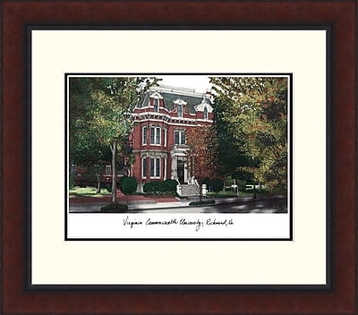 Campus Images Legacy Alumnus Lithograph Picture Frame; VCU Rams