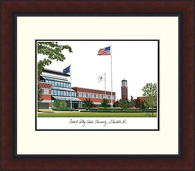 Campus Images Legacy Alumnus Lithograph Picture Frame; Grand Valley State Lakers