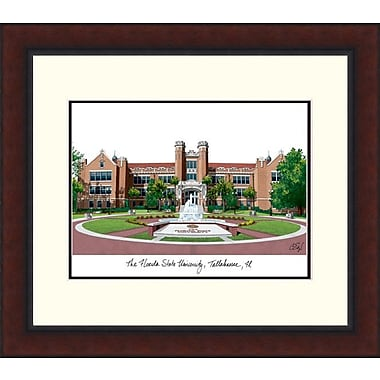 Campus Images Legacy Alumnus Lithograph Picture Frame; Florida State Seminoles