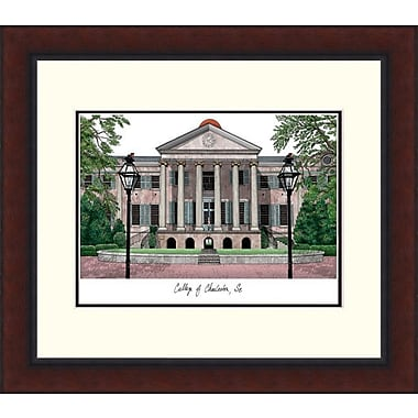 Campus Images Legacy Alumnus Lithograph Picture Frame; College of Charleston Cougars