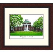 Campus Images Legacy Alumnus Lithograph Picture Frame; Delaware Blue Hens