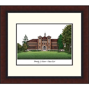 Campus Images Legacy Alumnus Lithograph Picture Frame; Wisconsin - Stevens Point Pointers