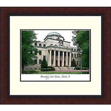 Campus Images Legacy Alumnus Lithograph Picture Frame; South Carolina Gamecocks