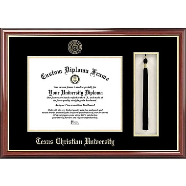 Campus Images NCAA Tassel Box and Diploma Picture Frame; TCU Horned Frogs