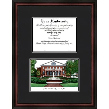 Campus Images NCAA Diplomate Diploma Picture Frame; East Carolina Pirates