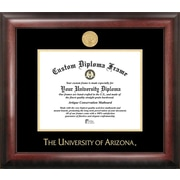 Campus Images NCAA Gold Embossed Diploma Picture Frame; Arizona Wildcats