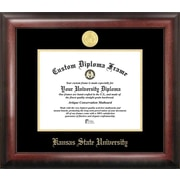 Campus Images NCAA Gold Embossed Diploma Picture Frame; Kansas State Wildcats