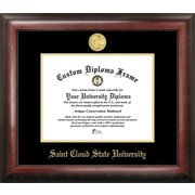 Campus Images NCAA Gold Embossed Diploma Picture Frame; SCSU Huskies
