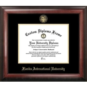 Campus Images NCAA Gold Embossed Diploma Picture Frame; Florida International Golden Panthers