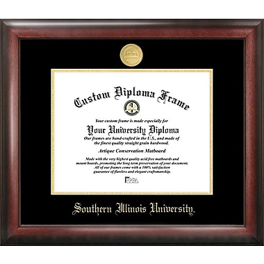 Campus Images NCAA Gold Embossed Diploma Picture Frame; Southern Illinois Salukis